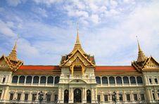 Free Wat Phra Kaeo Grand Palace Royalty Free Stock Images - 20080239