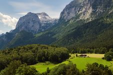 Free House In Alps Stock Images - 20080244