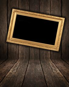 Wooden Interior Royalty Free Stock Photography