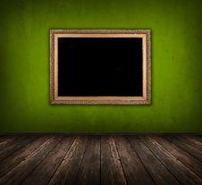 Free Dark Green Room Stock Image - 20080731