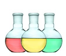 Free Liquid Colorful Of Laboratory Glassware Royalty Free Stock Photo - 20081435