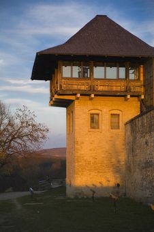 Free Medieval Fort Tower Stock Photography - 20083212