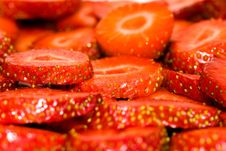 Free Cut Strawberry Royalty Free Stock Image - 20084216