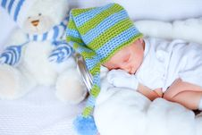 Free Adorable Newborn Baby Stock Photography - 20084402