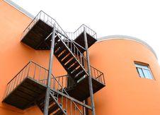 Free Steel Stairways Stock Image - 20084501