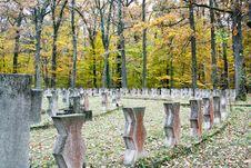The Heroes Cemetery In Sibiu
