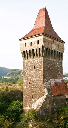 Free Tower From The Medieval Castle Of Hunedoara Royalty Free Stock Photo - 20084735