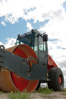 Free Road- Or Steam-roller Royalty Free Stock Photos - 20084738
