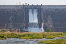 Free Water Barrier Dam Stock Photography - 20085082