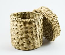 Free Wicker Basket Royalty Free Stock Images - 20085239