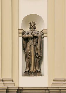 Free Statue Of King Vladimir. Stock Photos - 20085453