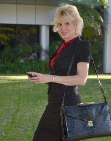 Free Business Woman Stock Image - 20085531