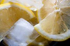 Free Lemon Ice Royalty Free Stock Image - 20085606
