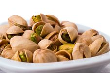 Free Pistachios In A Bowl Stock Image - 20085651