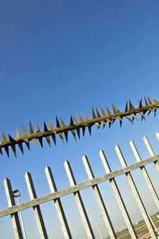 Free Barbed Wire Fence Stock Image - 20085901