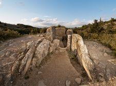Free Dolmen Of Mina De Farangortea Stock Image - 20086431
