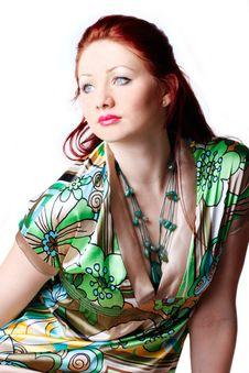 Free Single Beautiful Woman Royalty Free Stock Images - 20087099