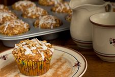 Free Apple Muffins Royalty Free Stock Photo - 20087365