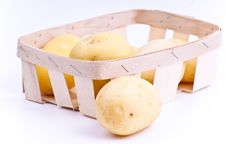 Free Potato Pile Isolated Royalty Free Stock Photography - 20087707