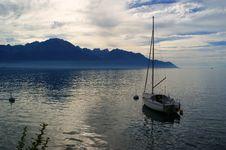 Free The Yacht On Lake Of Geneva-Switzerland Royalty Free Stock Images - 20087819