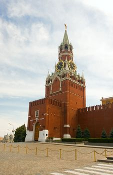 Free Kremlin Tower Royalty Free Stock Photo - 20088185