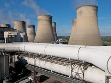 Free Power Station Royalty Free Stock Photos - 20088548