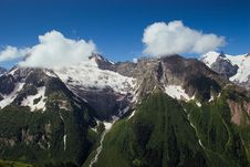 Free Caucasus Mountains. Dombai Stock Images - 20088704