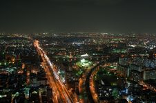 Free Osaka From Skyscraper Royalty Free Stock Photos - 20088978
