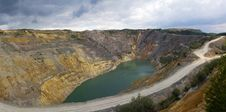 Free Open Pit  Lake Royalty Free Stock Images - 20089619