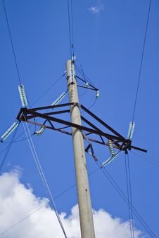 Free Industrial Power Transmission Lines Stock Image - 20089831