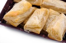 Free Puff Pastry With Potato And Cabbage Royalty Free Stock Photography - 20089967