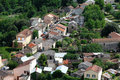 Free Small Village In Europe With Clustered Houses Stock Photos - 20096303