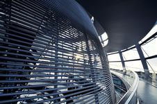 Free Inside The Reichstag Dome Royalty Free Stock Photography - 20090127