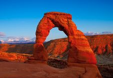 Free Delicate Arch Royalty Free Stock Photos - 20090298