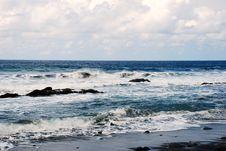 Free Waves In Atlantic Ocean Stock Photos - 20090313