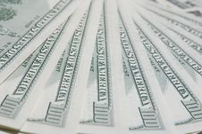 Free Background With American Hundred Dollar Bills Stock Photo - 20090320