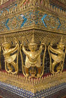 Free Wat Phra Kaew Stock Image - 20090621