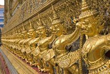 Free Wat Phra Kaew Royalty Free Stock Photo - 20090675