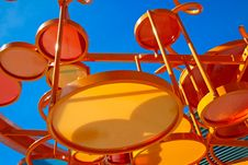 Structure At The Children S Playground. Stock Photos