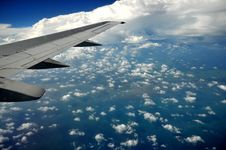 Free Earth And Plane Wing Royalty Free Stock Images - 20091689