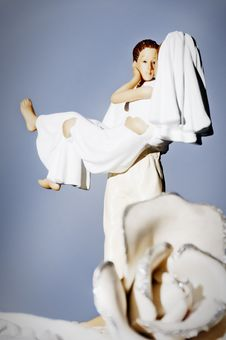 Free Wedding Cake Figurines Stock Images - 20091974