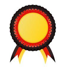 Free Award Rosette , German Stock Images - 20092854