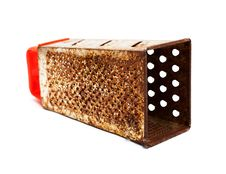 Rusty Kitchen Grater. Stock Photography