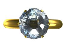 Free 3d Ring Royalty Free Stock Photo - 20093415