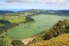 Free Lake In Azores Stock Images - 20093734