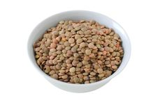 Dry Lentil Royalty Free Stock Photos