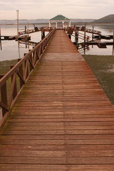 Free Wooden Jetty Stock Photography - 20094142