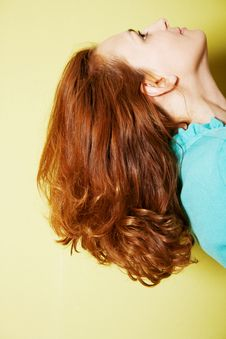 Free Long Hairs Of Beautiful Young Woman Stock Images - 20094154