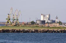 Free Harbour Cranes Stock Image - 20094231
