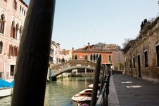 View Of Venetian Canal Royalty Free Stock Images